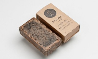 Handcrafted Coffee and Rose Soap from Portland's Maak Lab