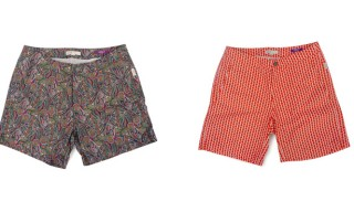 Onia for Barneys New York Exclusive Liberty Art Swim Trunks