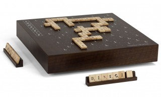 Scrabble Typography Second Edition Maple Set by Andrew Capener