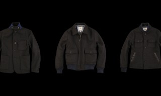 Golden Bear for Unionmade 32oz. Melton Wool Outerwear