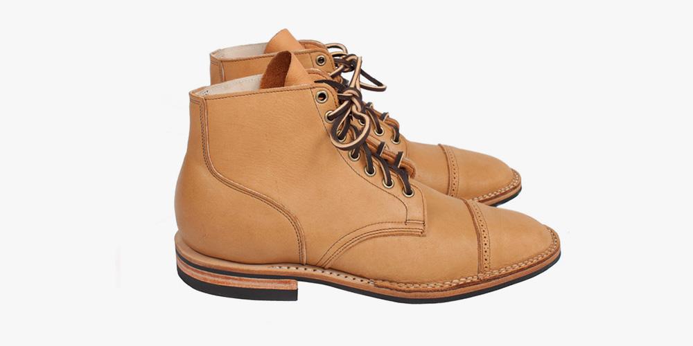 Viberg Boot Moose Skin Service Boots for Tate + Yoko