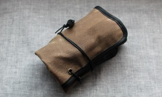Worn&Wound Waxed Horween Edition Watch Roll