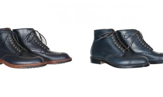 The Concord & Tanker – Two Navy Boots By Alden For Epaulet