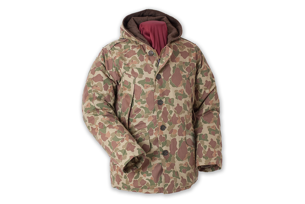 All over Camo Done Right With This Buzz Rickson B 9 Parka