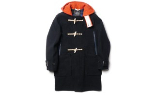 CASH CA & Gloverall Release A New Take On The Monty 575 Duffle Coat