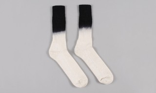 Marwood Create Dip-Dye Mohair Socks For Goods by Goodhood