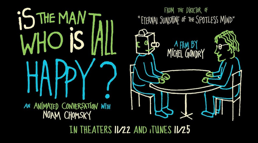 Michel Gondry On Animated Conversation With Noam Chomsky