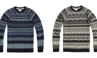Norse Projects Birnir Fair Isle Wool Knit Sweater