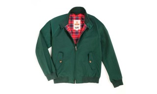 Baracuta Create Exclusive Racing Green Harrington for Oi Polloi