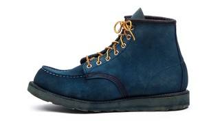 Tenue de Nîmes Dip-Dye 50 Pairs Of Red Wing Boots In Natural Indigo