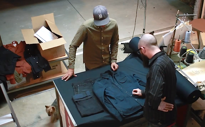 A Pure Indigo Workshirt From Rogue Territory & Snake Oil Provisions