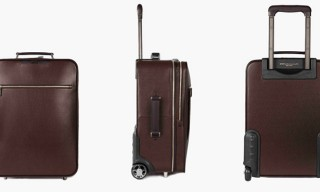 WANT Les Essentiels de la Vie Create Their First Rolling Carry-On Luggage