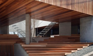 """See the """"Beyond the Hill"""" House in Yokohama that has a Public Seating Deck"""