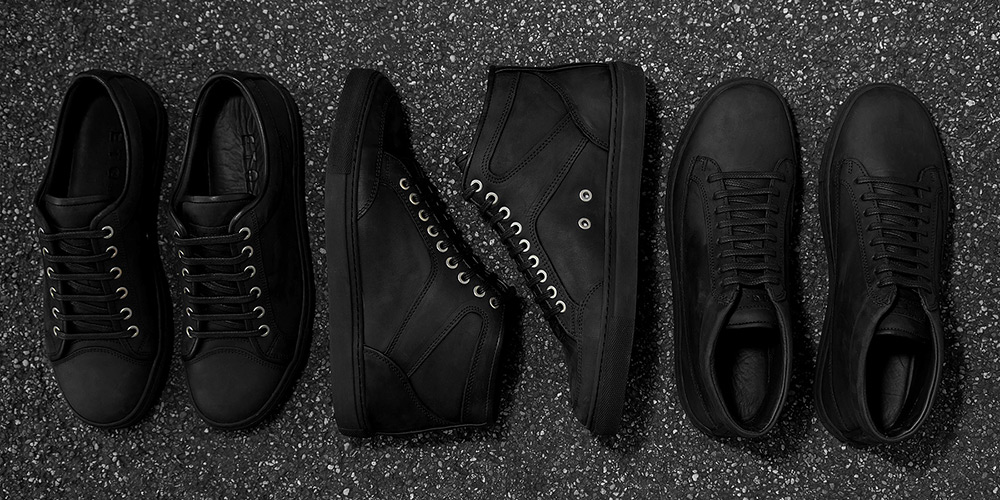 ETQ Amsterdam Releases All-Black Series of Sneakers