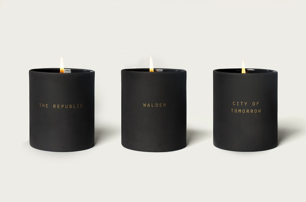 The School Of Life Utopia Candles   Inspired by Henry David Thoreau, Le Corbusier and Plato