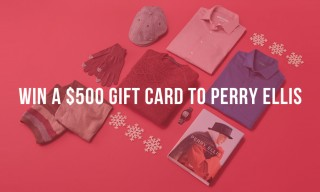Win a $500 Gift Card to Perry Ellis