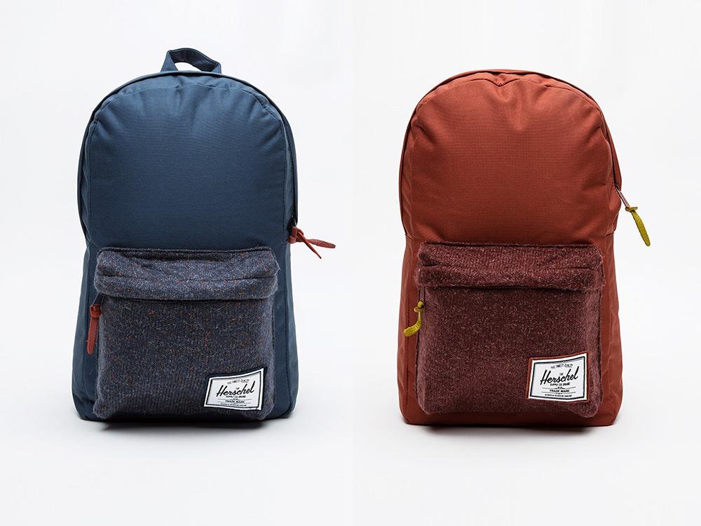 Herschel Supply Co. Knitted Woodside Backpacks