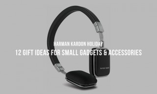 Harman Kardon Holiday: 12 Gift Ideas for Small Gadgets and Accessories