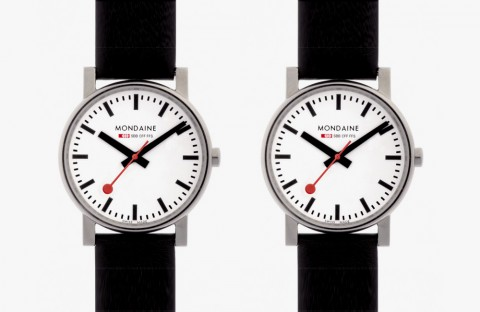 Mondaine Swiss Railways Evo Watch