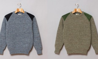 Oi Polloi Scotia Rib Knit Sweaters – Made in Scotland