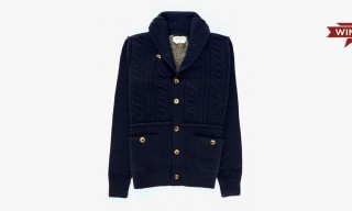Win a President's Cable-Knit Cashmere Cardigan