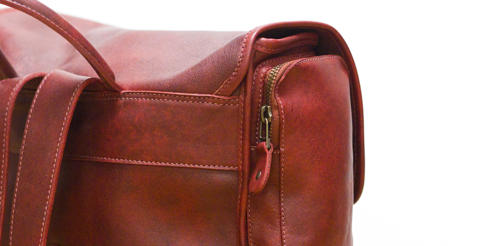 ROOTS Custom Omer Backpack in Oxblood