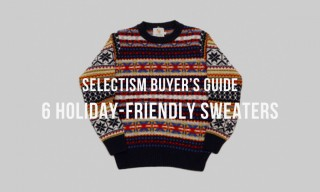 Selectism Guide: 6 Holiday-Friendly Sweaters