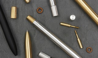 AJOTO London Create Ultimate Aluminium and Brass Pen