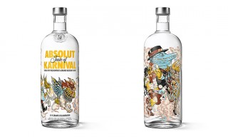 Graphic Artist Rafael Grampá Designs For Absolut Karnival
