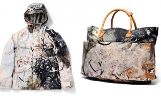Bal Team Up With Artist Jose Parla For Porter Tote and Anorak