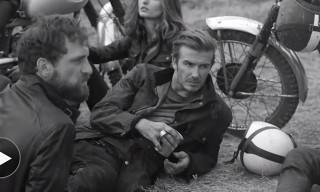David Beckham Stars In Belstaff Spring/Summer 2014 Campaign