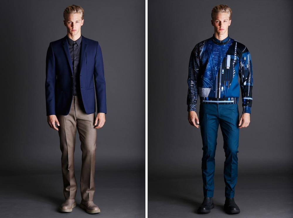 Heavy On The Blue   Calvin Klein Collection Pre Fall 2014 Lookbook