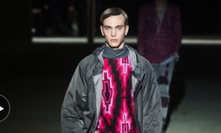 "Dries Van Noten Fall/Winter 2014 In Motion – ""Rave and Renaissance"""