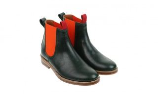 Junya Watanabe Contrast Band Chelsea Boots