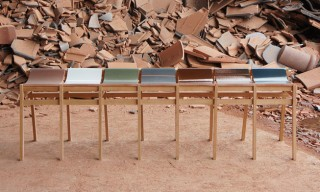 Repurposed Benches and Stools by Tsuyoshi Hayashi