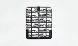 Kenzo Spring/Summer 2014 Wave Print iPad Case
