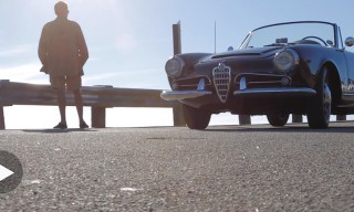 The 1962 Alfa Romeo Giulia Spider Veloce 1600 Heads To The Ocean