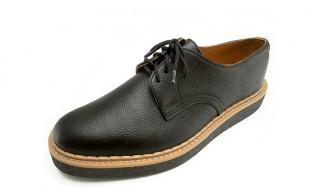 Rain man and George Cox Create The Gibson Rain-Proof Shoe