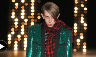 All That Glitters – Saint Laurent Fall/Winter 2014 In Motion