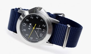 A.P.C. for Carhartt Military Watch