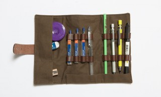 Brownbreath Threefold Nomad Pencil Case