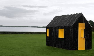 See the Chameleon Paper Cabin in Sweden that Changes Color
