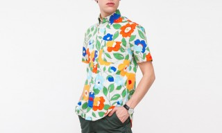 Gitman Brothers Vintage Exclusive Print Shirts for Need Supply