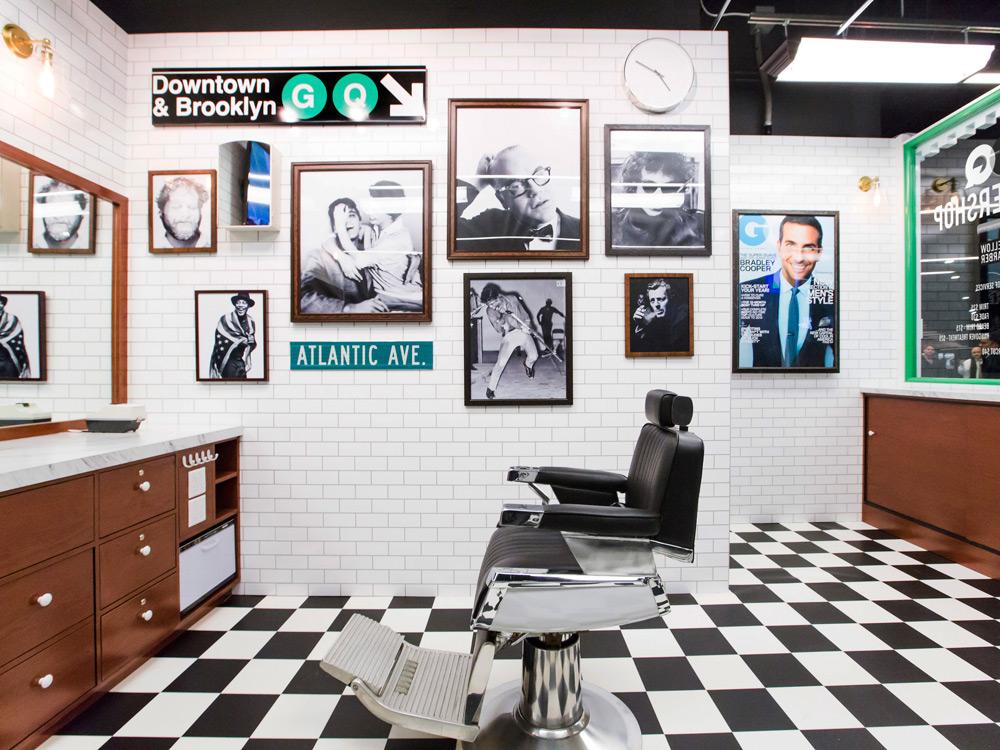 GQ and Fellow Barber Open Barbershop in Brooklyn
