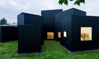 "See the Sprawled Box ""House O"" in Hokkaido, Japan"
