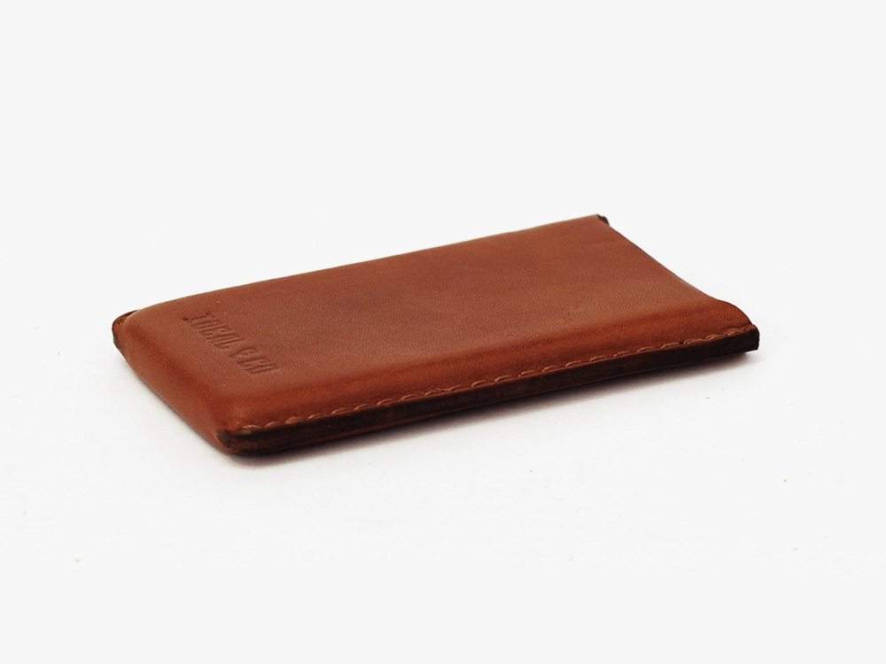 Vegetable Tanned Leather iPhone Case by Ideal&Co Living Heritage