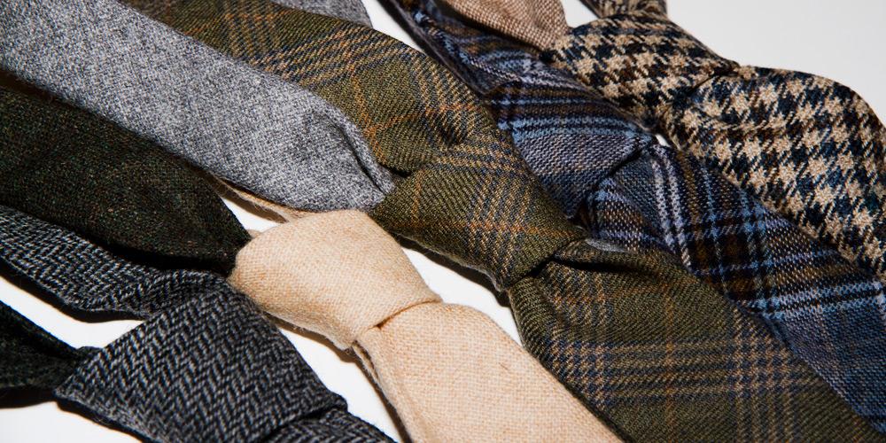 Pierrepont Hicks Winter Wool Ties