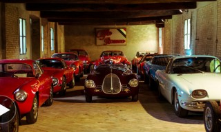 See Mario Righini's Private Car Collection in Modena, Italy