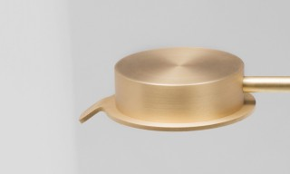 David Chipperfield Designs Beautiful Brass Lamp For Wästberg