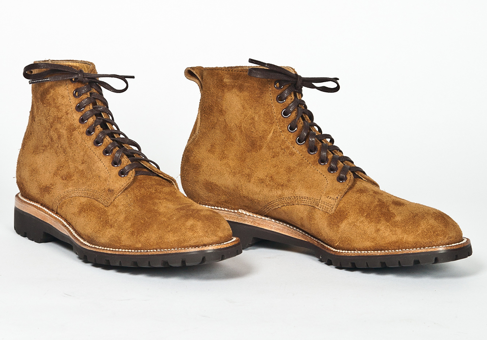 Yuketen Eric Fog Boots   Soft Mexican Suede With A Tough Vibram Sole